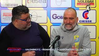 Eccellenza Girone B Valdarno-Rignanese 2-0 (TV1)