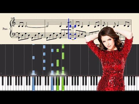 Anna Kendrick & Justin Timberlake - True Colors - Piano Tutorial + SHEETS