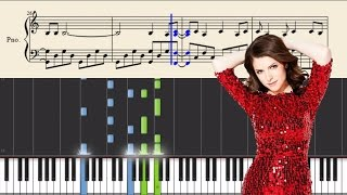 Anna Kendrick & Justin Timberlake - True Colors - Piano Tutorial + SHEETS