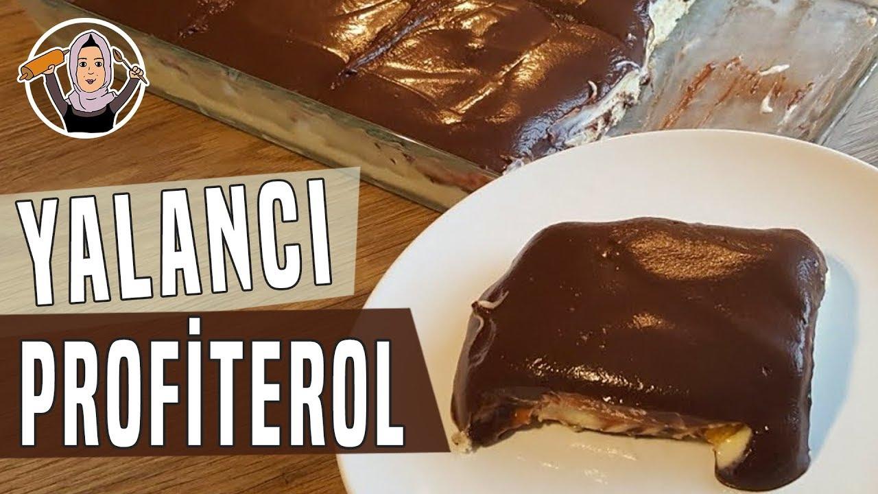 Yalancı Profiterol Tarifi - Dünyanın en kolay pastası | Hatice Mazı ile Yemek Tarifleri