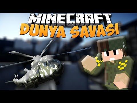 Minecraft Dünya Savaşları (Modlu)