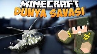 Minecraft Dünya Savaşları (Modlu) - DÜŞMAN BÖLGESİNDEN HELİKOPTER ÇALMAK ! (Minecraft World Wars)
