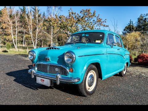 1958 Austin A55 Cambridge - (VIDEO) - Waimak Classic Cars - New Zealand