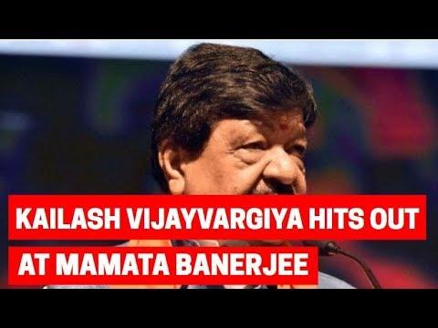 Lok Sabha election 2019: Kailash Vijayvargiya hits out at Mamata Banerjee