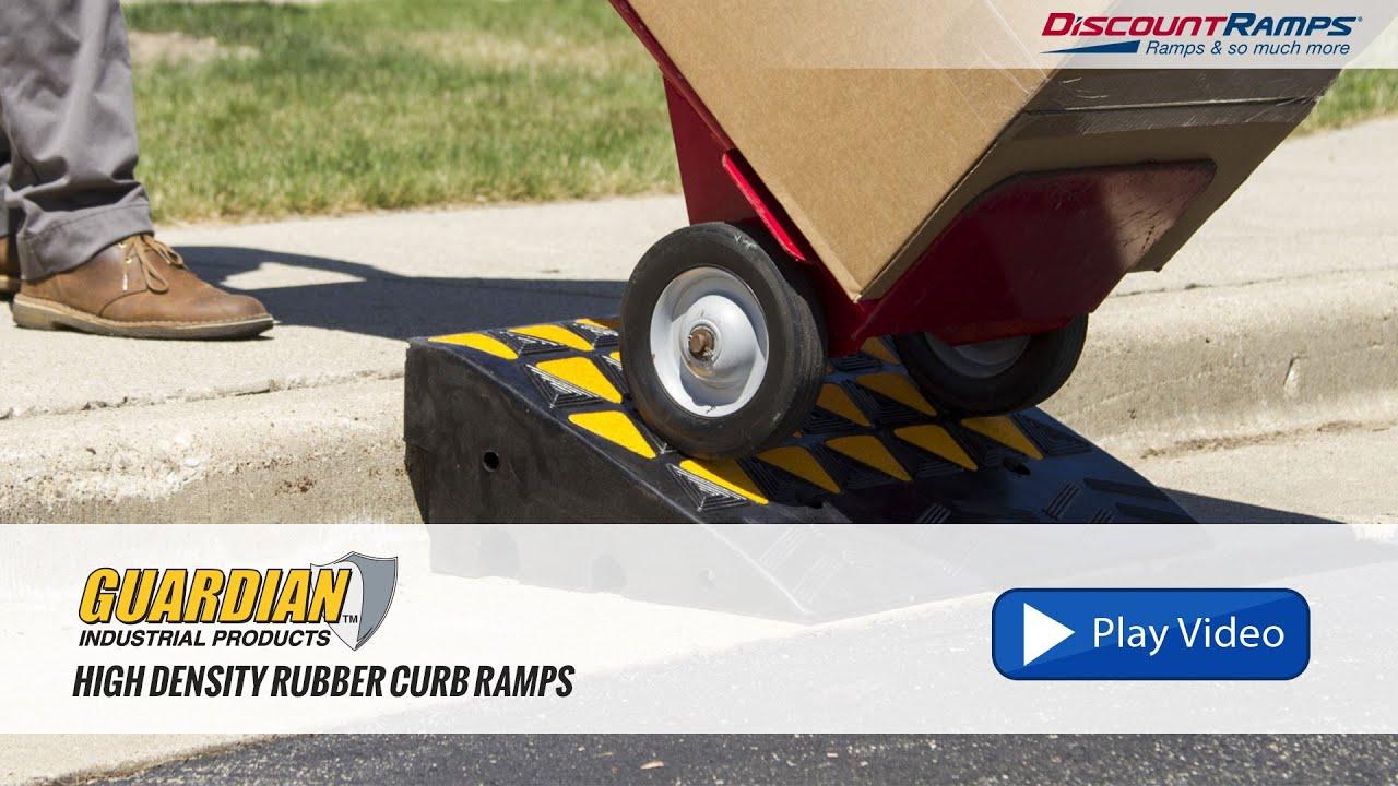 Guardian Rubber Curb Ramps - KR30R, KR36R, KR45R