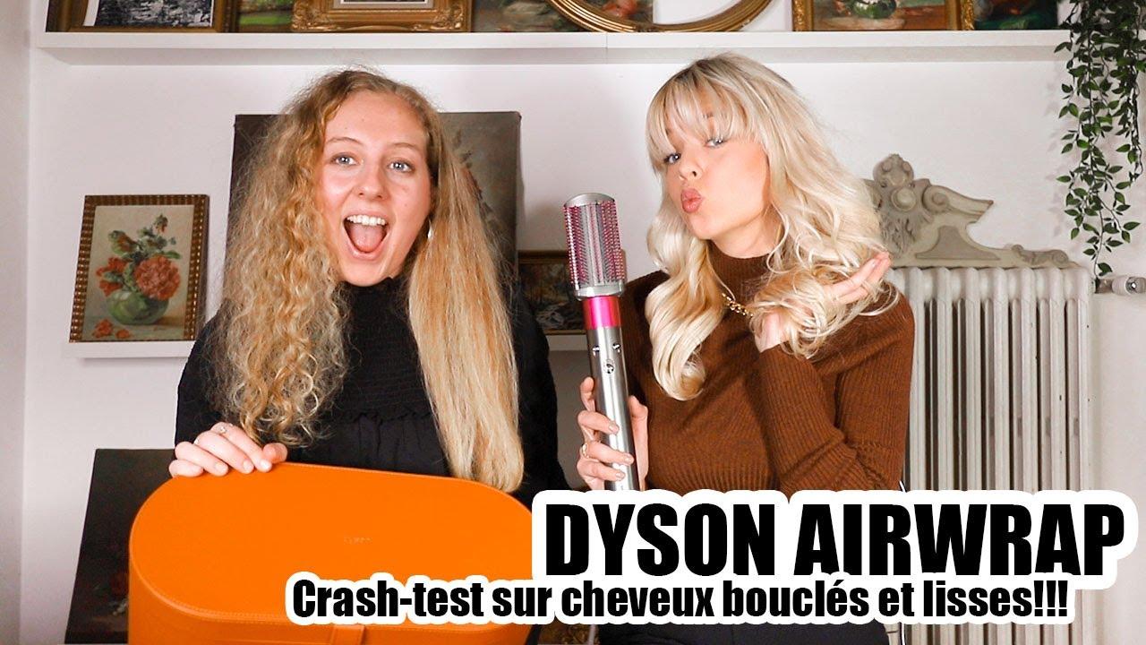 Download CRASH-TEST DYSON AIRWRAP SUR CHEVEUX BOUCLES ET LISSES 🔥