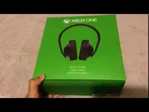 xbox one stereo headset unboxing and mic test youtube. Black Bedroom Furniture Sets. Home Design Ideas