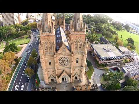 Hyde Park Sydney & St Mary's Cathedral