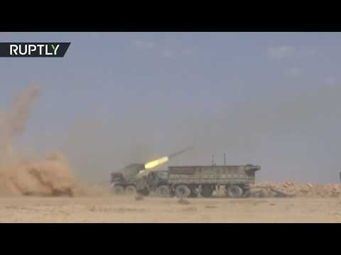 RAW: Syrian Army routs ISIS from key sites east of Euphrates
