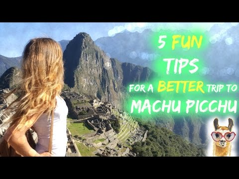 Travel tips for visiting Machu Picchu/Asya Eneva