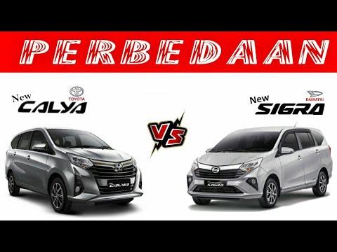 Perbedaan Toyota Calya dan Daihatsu Sigra Facelift yang harus diketahui