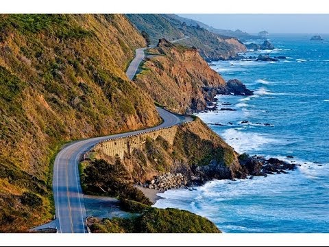 Motorcycle Ride to HWY 1 Big Sur - Monterey - Santa Cruz - H
