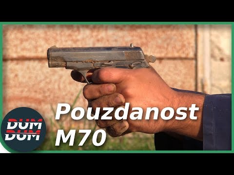 TEST POUZDANOSTI - Zastava M70 7,65