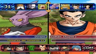 DRAGON BALL Z BUDOKAI TENKAICHI 3 VERSION LATINO FINAL GAMEPLAY LOTERIA 72