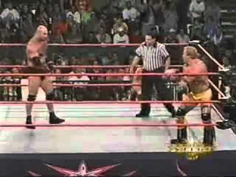 Goldberg vs Shane Douglas 4/9/2000 6men on goldberg