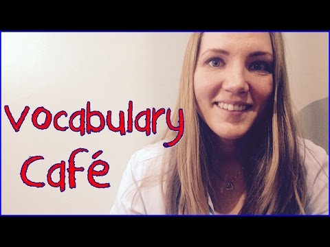 Norwegian Vocabulary: Café / Coffee Shop