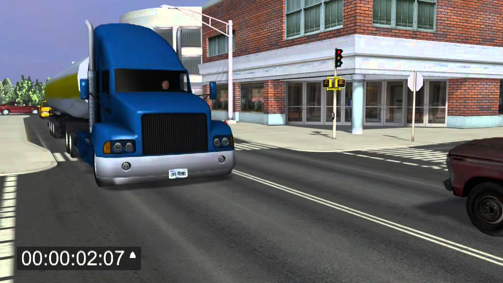 Traffic accident reconstruction 2 - YouTube