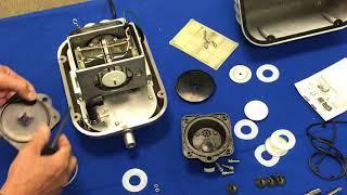 Vorgehensweise: Zerlegen, Zusammenbau & Reparatur Pondmaster AP-100 Luftpumpe