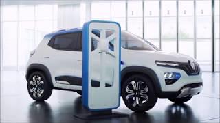 Renault K-ZE - новый бюджетный электромобиль