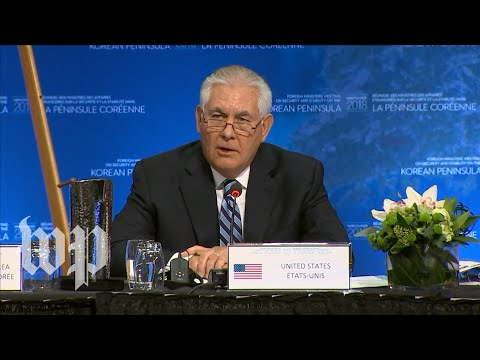 Download Youtube: Tillerson rejects 'freezing' military drills in exchange for pause in North Korean nuke program