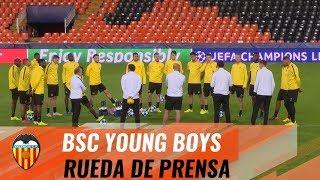 VALENCIA CF | EL BSC YOUNG BOYS YA ESTÁ EN MESTALLA