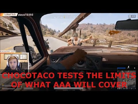 PlayerUnknown's Battlegrounds - ChocoTaco Tests The Limits Of What AAA Will Cover