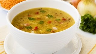 How To Make Simple Vegetable Soup - آموزش درست کردن سوپ ساده سبزیجات