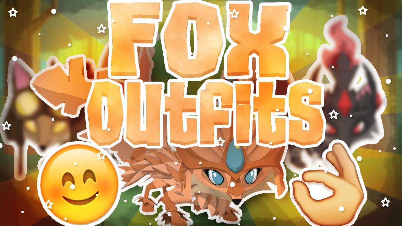 Outfit Lookbook 3 Original Fox Outfit Ideas Animal Jam Youtube