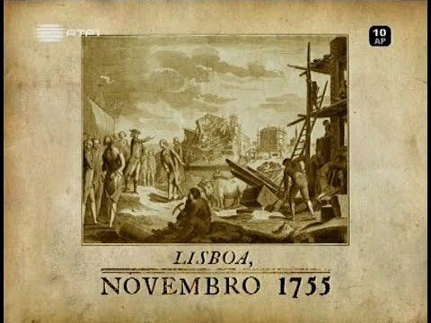 Lisboa - O Terramoto de Novembro de 1755 - RTP1