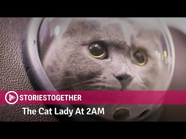 The Cat Lady At 2AM: StoriesTogether - Boy meets a mysterious lady at midnight. // Viddsee Originals