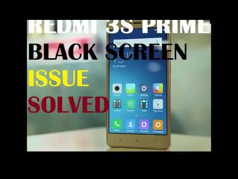 black screen problem in redmi note 4