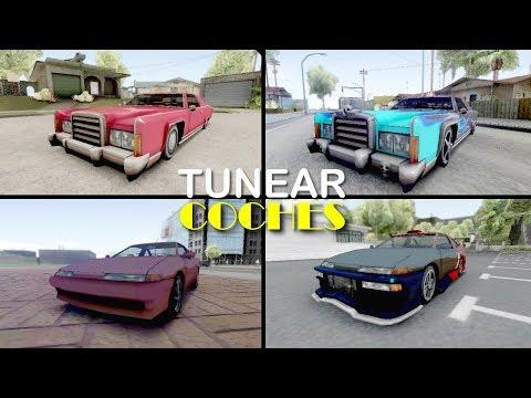 5 Formas De TUNEAR Coches En GTA San Andreas