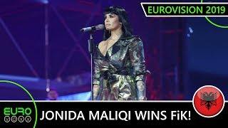 Jonida Maliqi wins FiK57 with 'Ktheju Tokës' (LIVE REACTION) | Albania Eurovision 2019
