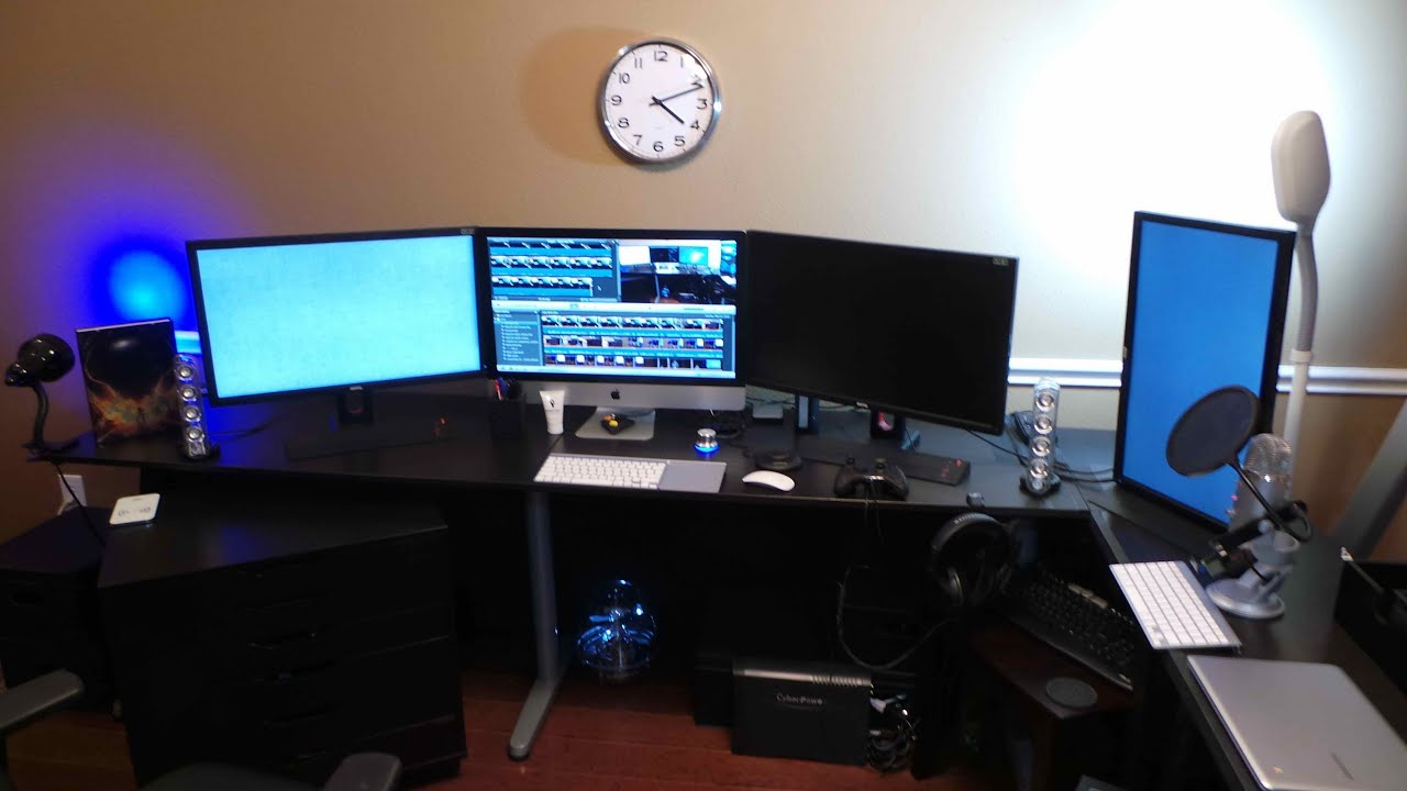 Computer And Gaming Set Up For May 2013 Youtube