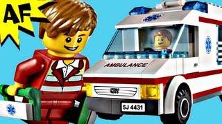 Лего Сіті машина швидкої допомоги 4431 встановити стоп-моушн побудувати коментар