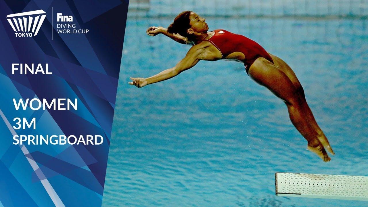 2021 China National Diving Championship Women's Singles 3m Springboard Finals Sport World