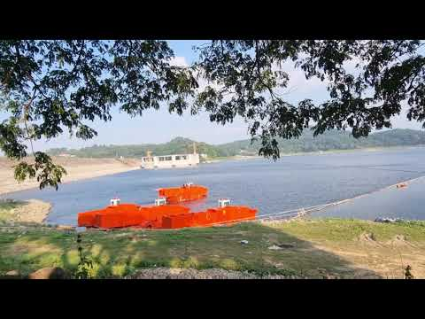 Test Storage Barge di sore hari...@waduk jatiluhur Purwakarta