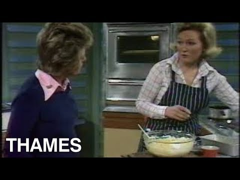 Mary Berry Makes A Fruit Cake Good Afternoon 1974 Youtube