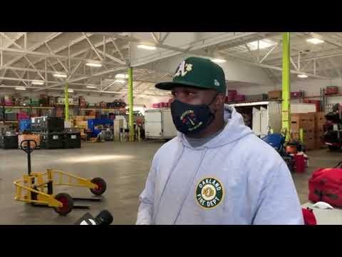 Oakland Fire Dept Off To Help Hurricane Ida Victims