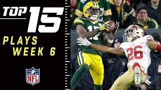 Top 15 Plays of Week 6 | NFL 2018 Highlights