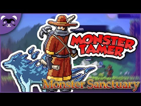POKEMON MEETS FINAL FANTASY?! - Let's Play Monster Sanctuary Demo Ep 1 - Game Review Gameplay