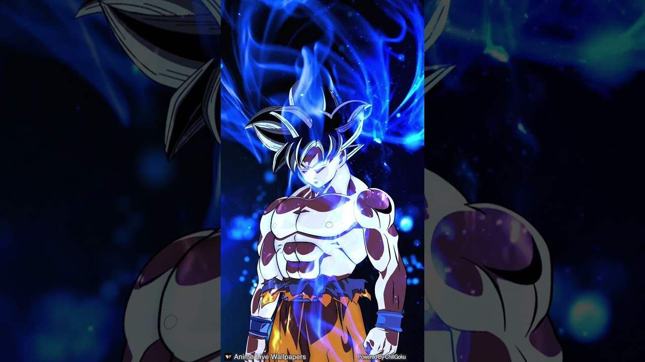 Goku Ultra Instinct Live Wallpaper For Any Android Device Youtube