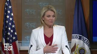 State Department news briefing 2017 Video