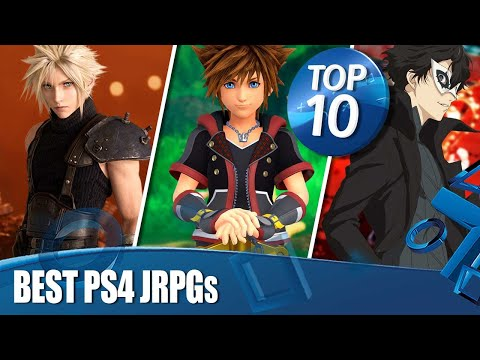 Top 10 Best JRPGs On PS4