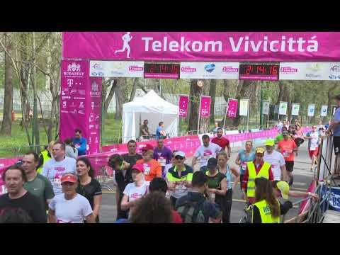 Telekom Vivicittá Félmaraton 2018 befutófilm 2:05:27-3:05:27