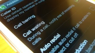 Call Waiting on Samsung Galaxy S3 with Jelly Bean 4.1.2