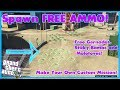 GTA 5 Online How To Make A Ammo Drop Race! Spawn FREE Gun AMMO!