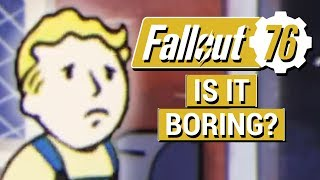 FALLOUT 76: Why I Don't Believe Fallout 76 Will Be Boring!! (Fallout 76 Event Reactions)