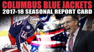 Columbus Blue Jackets 2017-18 Seasonal Report Card