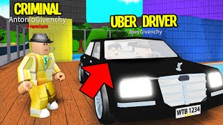 Ich habe einen UBER DRIVER eingestellt. Aber er war heimlich ein KRIMINAL! (Roblox)